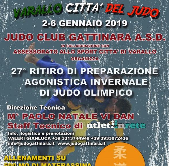 Volantino Varallo Città del judo