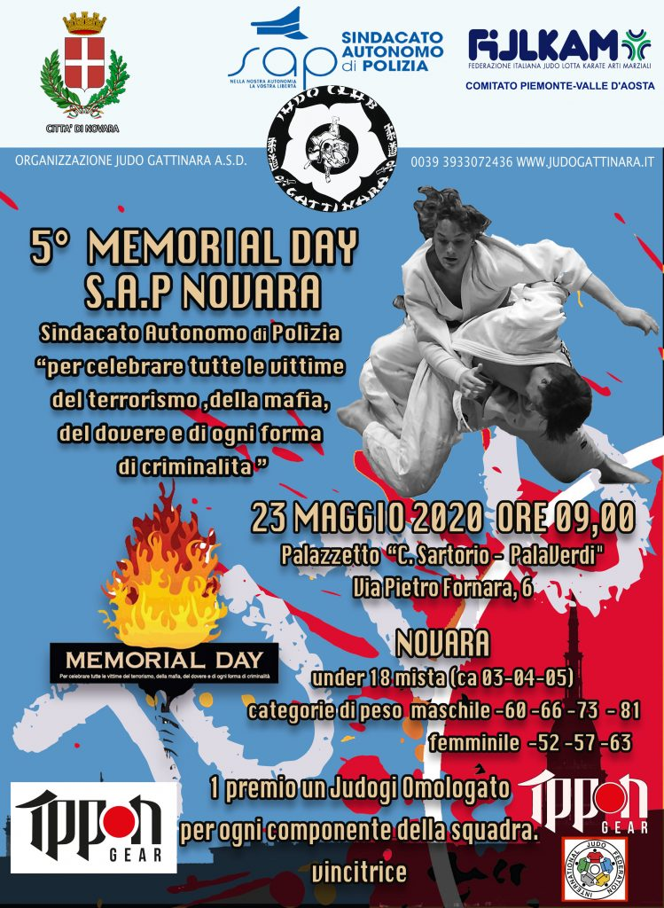 locandina Memorial Day Ippon Gear